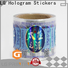 LG Printing Bulk buy holographic paper sticker suppliers for metal box surface