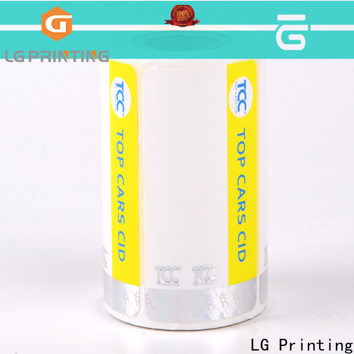 LG Printing Bulk buy custom size label printing suppliers for products