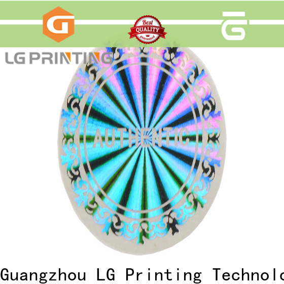 LG Printing Top sticker manufacturer china vendor for cosmetics