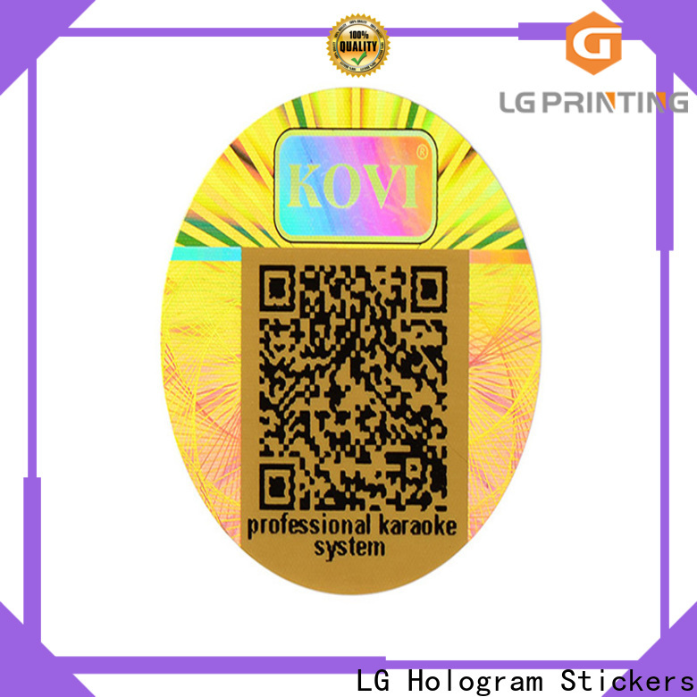 LG Printing Buy authentic hologram stickers company for pharmaceuticals