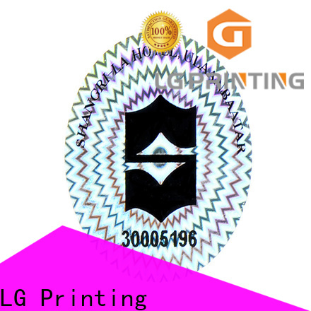 LG Printing Bulk buy 3d holographic stickers factory price for skin care products