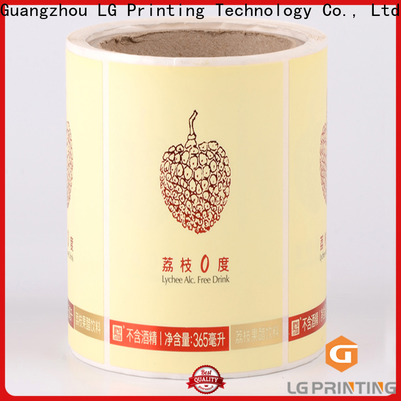 LG Printing Customized tertiary packaging factory price for cans