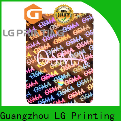 LG Printing Best hologram decals cost for skin care products