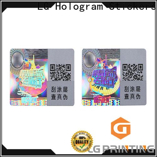 LG Printing Customized hologram sticker machine for garment hangtag