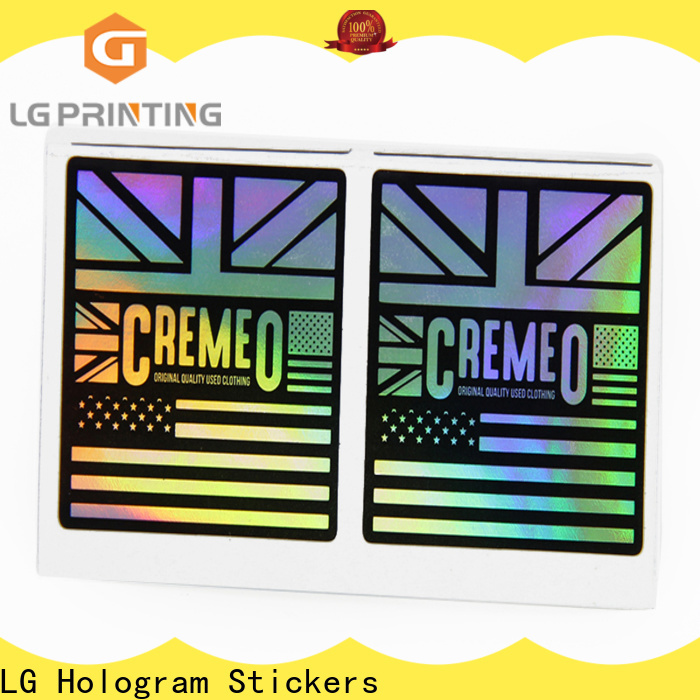 Top make holographic stickers price for package