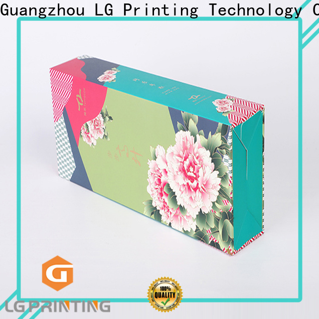 LG Printing Professional packaging box printing cost for products package