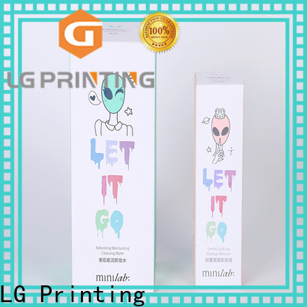 LG Printing cheap personalised boxes factory price for products package