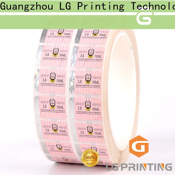 Bulk buy hot stamping hologram security cost for bag