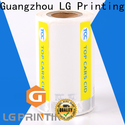 Professional holographic product labels PVC company for goods