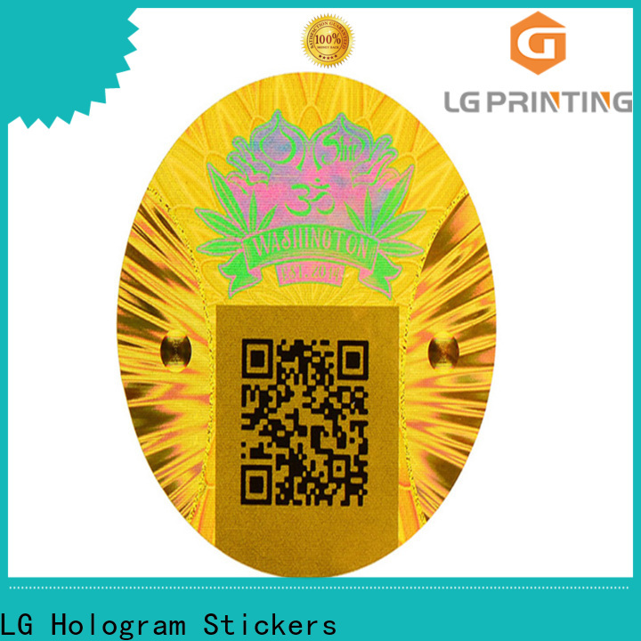LG Printing Bulk bopp sticker factory for skin care products