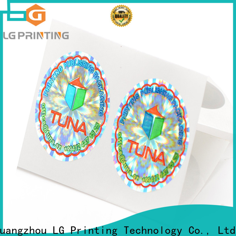 LG Printing Quality personalised hologram stickers suppliers for pharmaceuticals