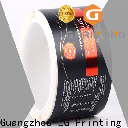 LG Printing Custom made customised bottle labels supply for wine bottle