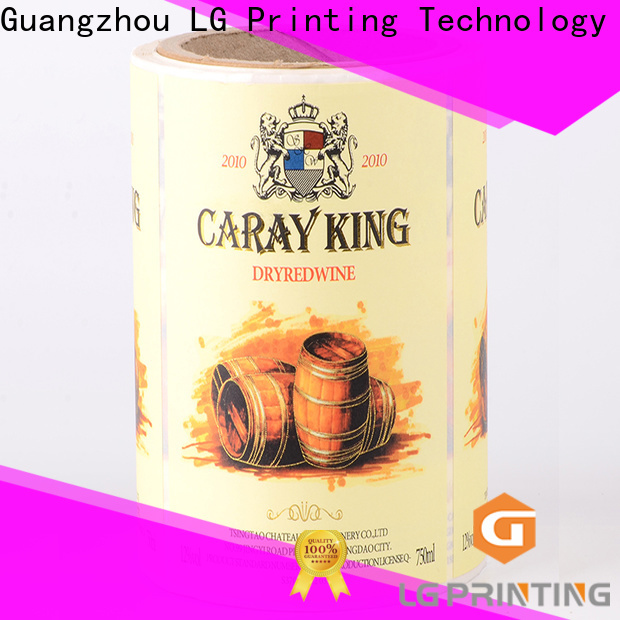 Customized secondary packaging red factory price for wine bottle