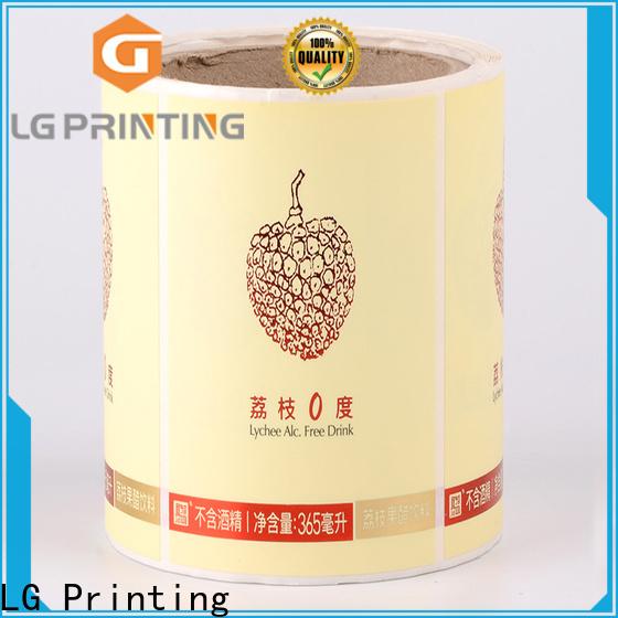 Bulk personalised packaging foil vendor for cans