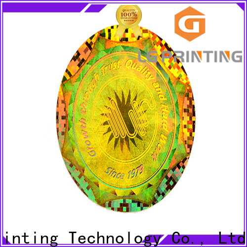 Buy holographic strips demelized factory price for electronics