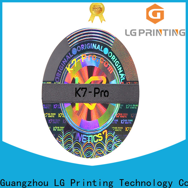 serial number stickers color for cosmetics