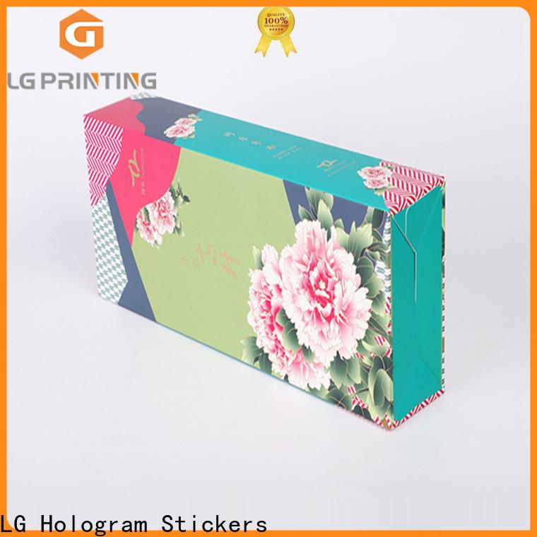 LG Printing Quality custom tea box packaging suppliers