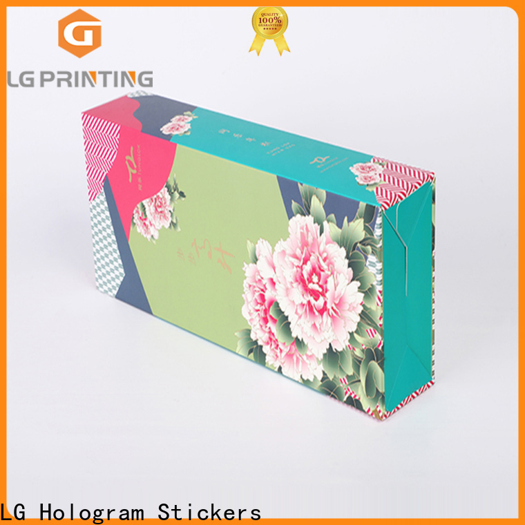 LG Printing Quality custom tea box packaging suppliers