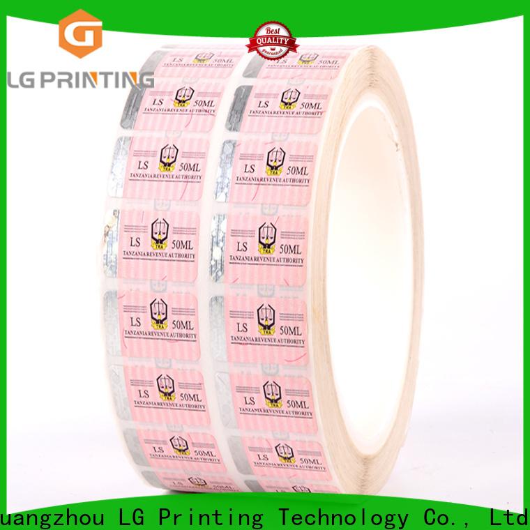 LG Printing 118 holographic hot stamping foil vendor for bag