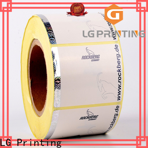 LG Printing asset security stickers suppliers for box
