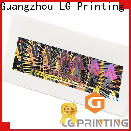 LG Printing Buy security labels manufacturers for skin care products