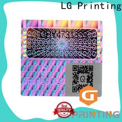 LG Printing one time china sticker manufacturers price for cosmetics