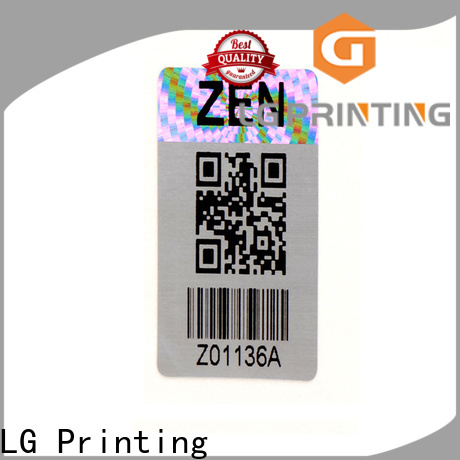LG Printing High-quality security void stickers factory price for pharmaceuticals