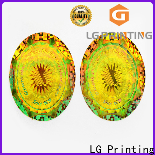 LG Printing void waterproof sticker label price for electronics
