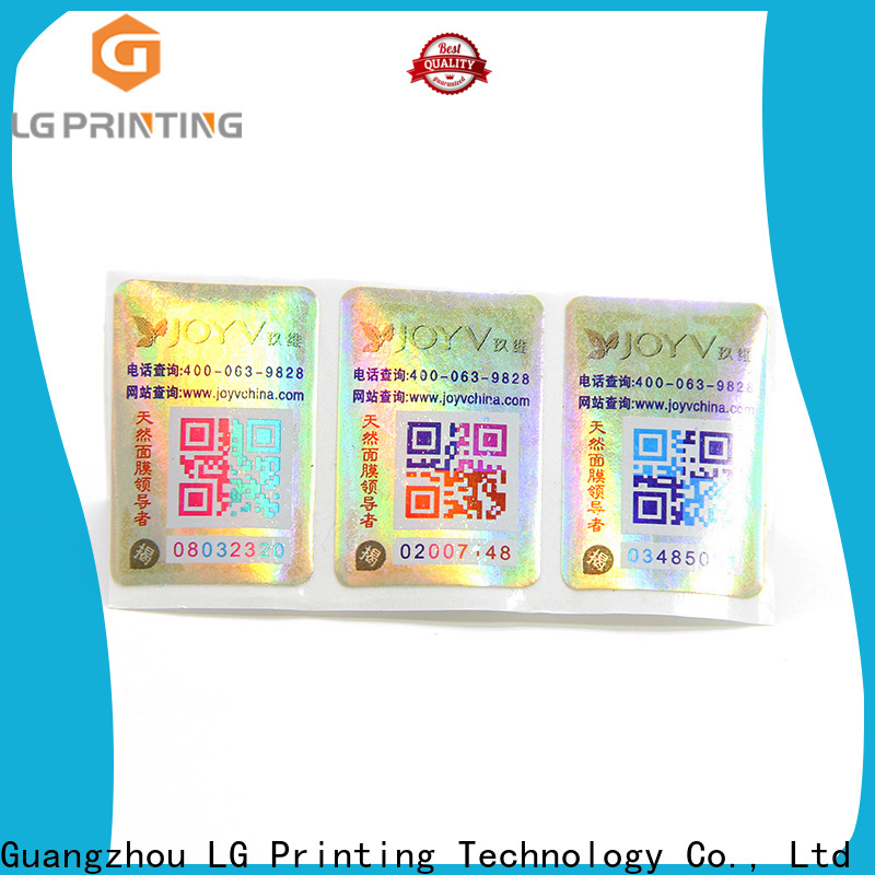 LG Printing wine labels factory company for products