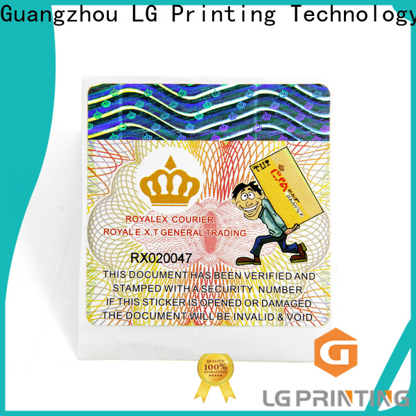 LG Printing Buy sticker label paper vendor for cosmetics