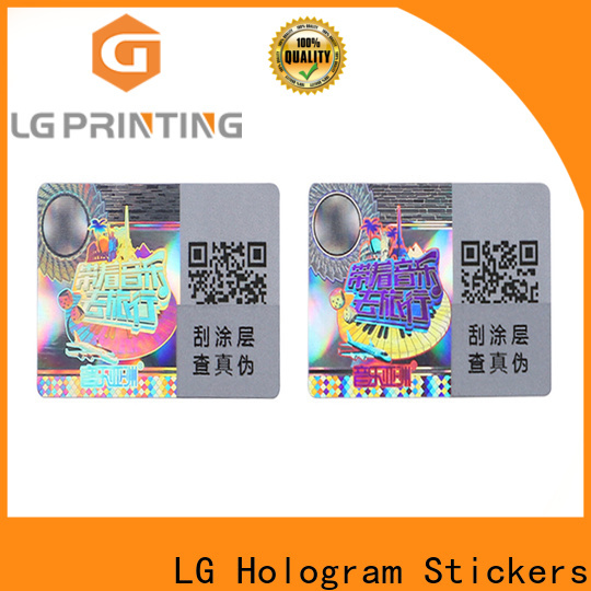 LG Printing Top void stickers suppliers for skin care products