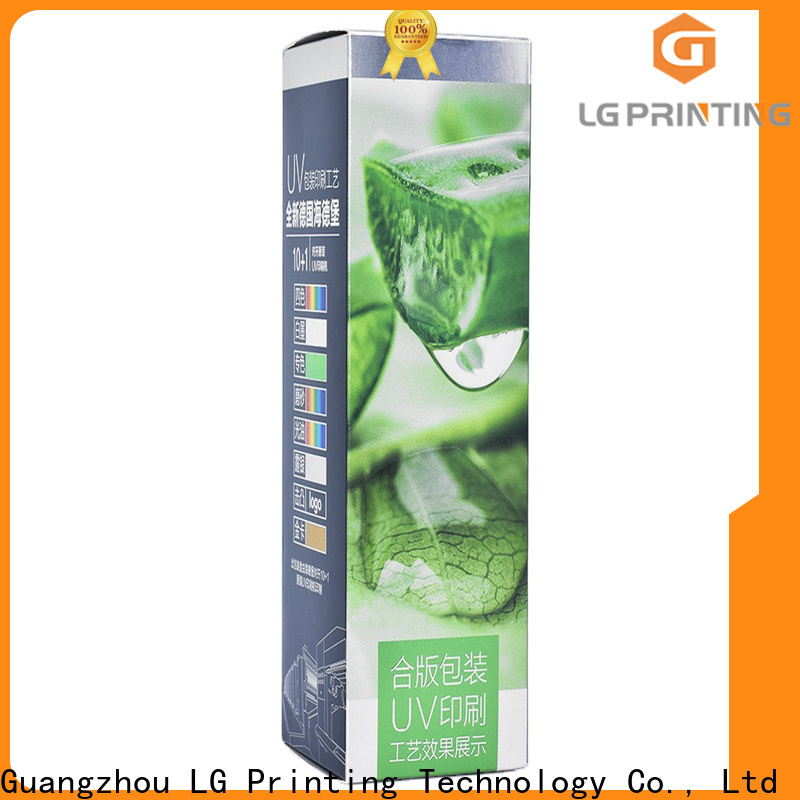 LG Printing Professional custom retail boxes price