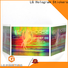 Bulk buy personalised holographic stickers suppliers for plastic box surface
