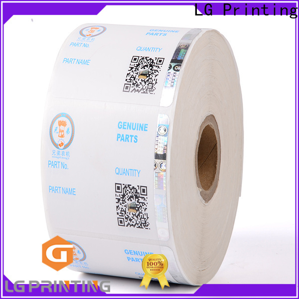 LG Printing Buy security seal stickers manufacturers for products