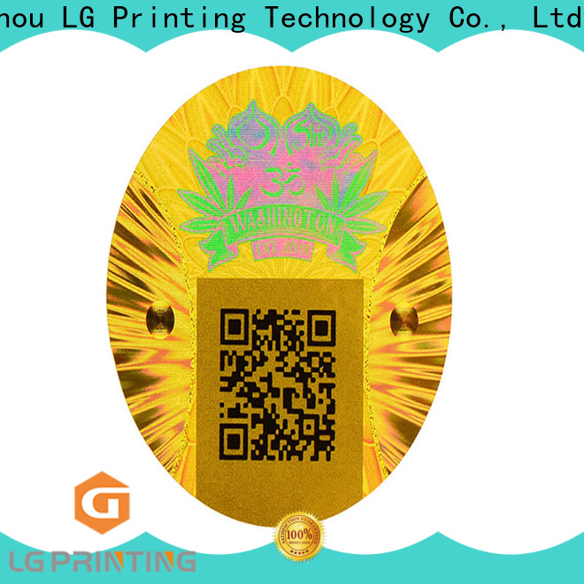 LG Printing one time 3d holographic stickers company for pharmaceuticals