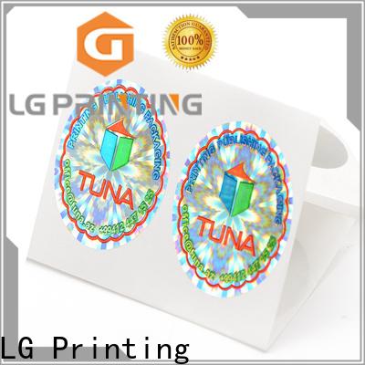 LG Printing Professional hologram foil labels for pharmaceuticals