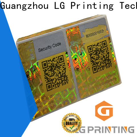 LG Printing Quality wholesale hologram sticker printing manufacturers for cosmetics
