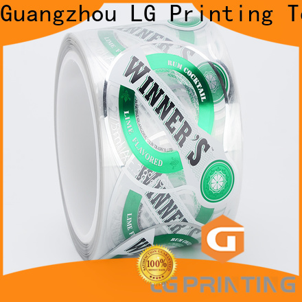 LG Printing bopp custom shipping boxes with logo manufacturers for cans