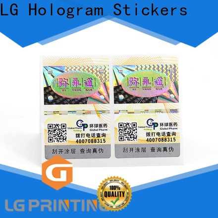 Bulk security label stickers cost for bottles