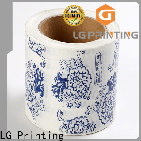 Custom adhesive label printing foil company for wine bottle