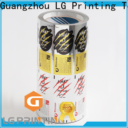 LG Printing pvc medical packaging supply for wine bottle