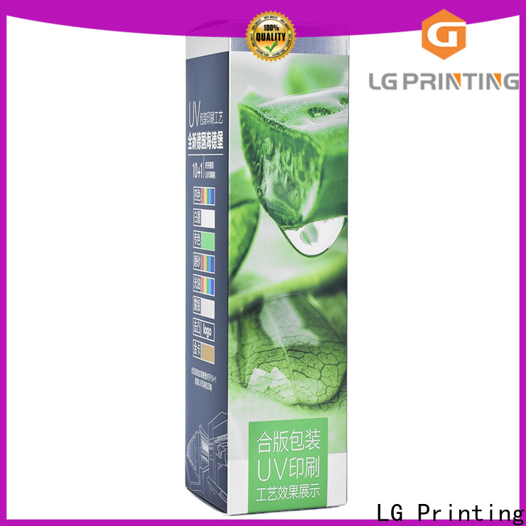 LG Printing custom apparel boxes cost for products package