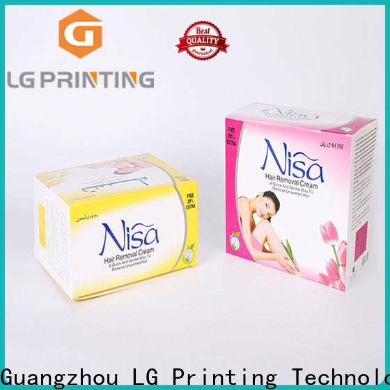 LG Printing High-quality custom printed product boxes factory price for products package