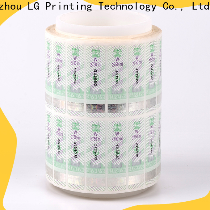 printable security stickers foil suppliers for products