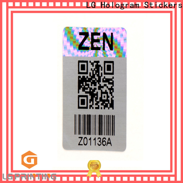 Customized hologram stickers suppliers authentic manufacturers for electronics