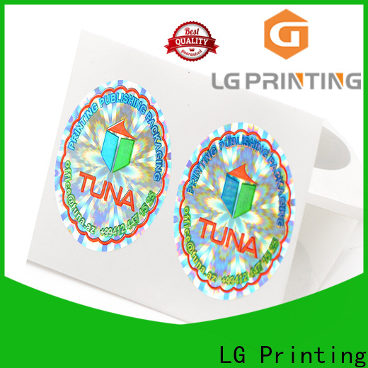 Best wholesale hologram sticker printing barcode price for electronics
