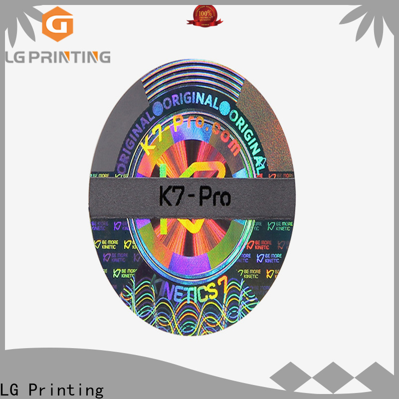 High-quality hologram seal stickers gold price for cosmetics