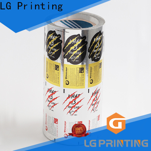 LG Printing pvc red wine bottle labels company for jars
