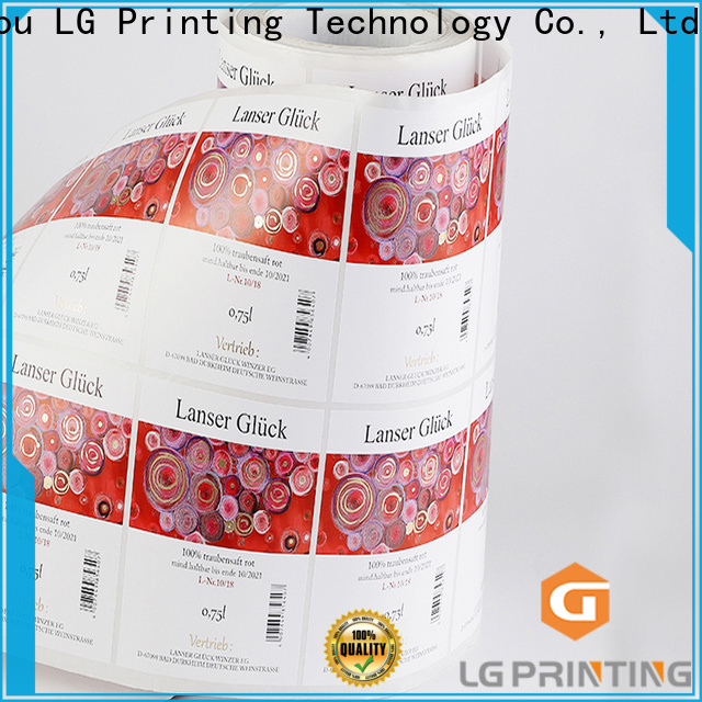 LG Printing silver print box suppliers for bottle
