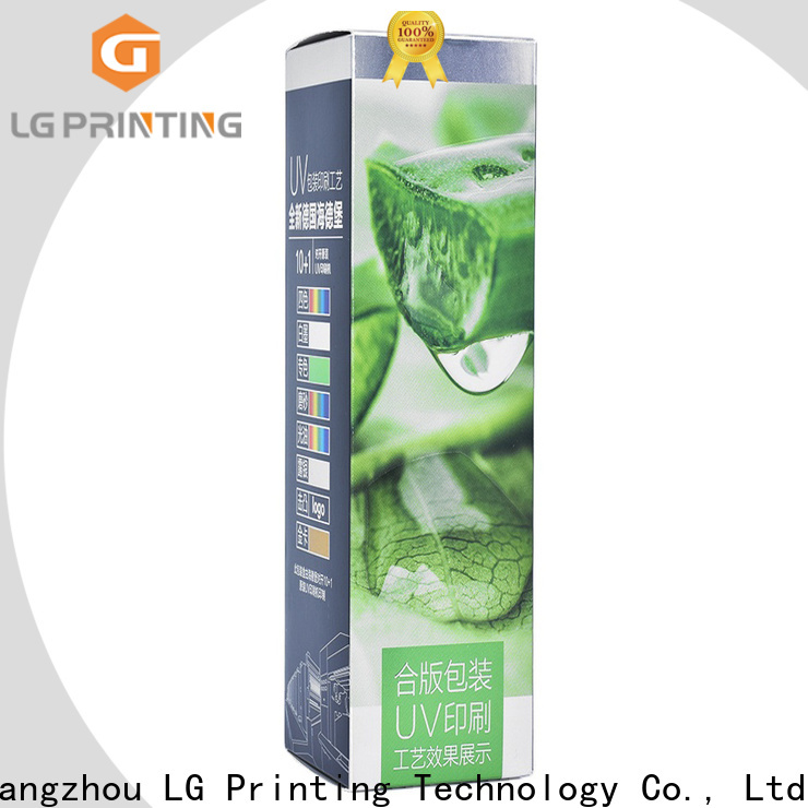 LG Printing custom jewelry boxes with logo supply for retail package